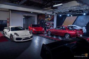 Ferrari Lusso Porsche GT4 Nissan R32 GTR