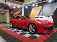 Ferrari GTC4 Lusso full body PPF clear wrap