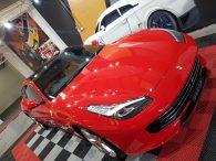 Ferrari GTC4 Lusso bonnet ppf protection