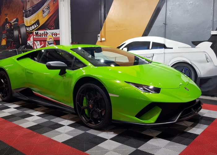 ppf lamborghini paint protection film