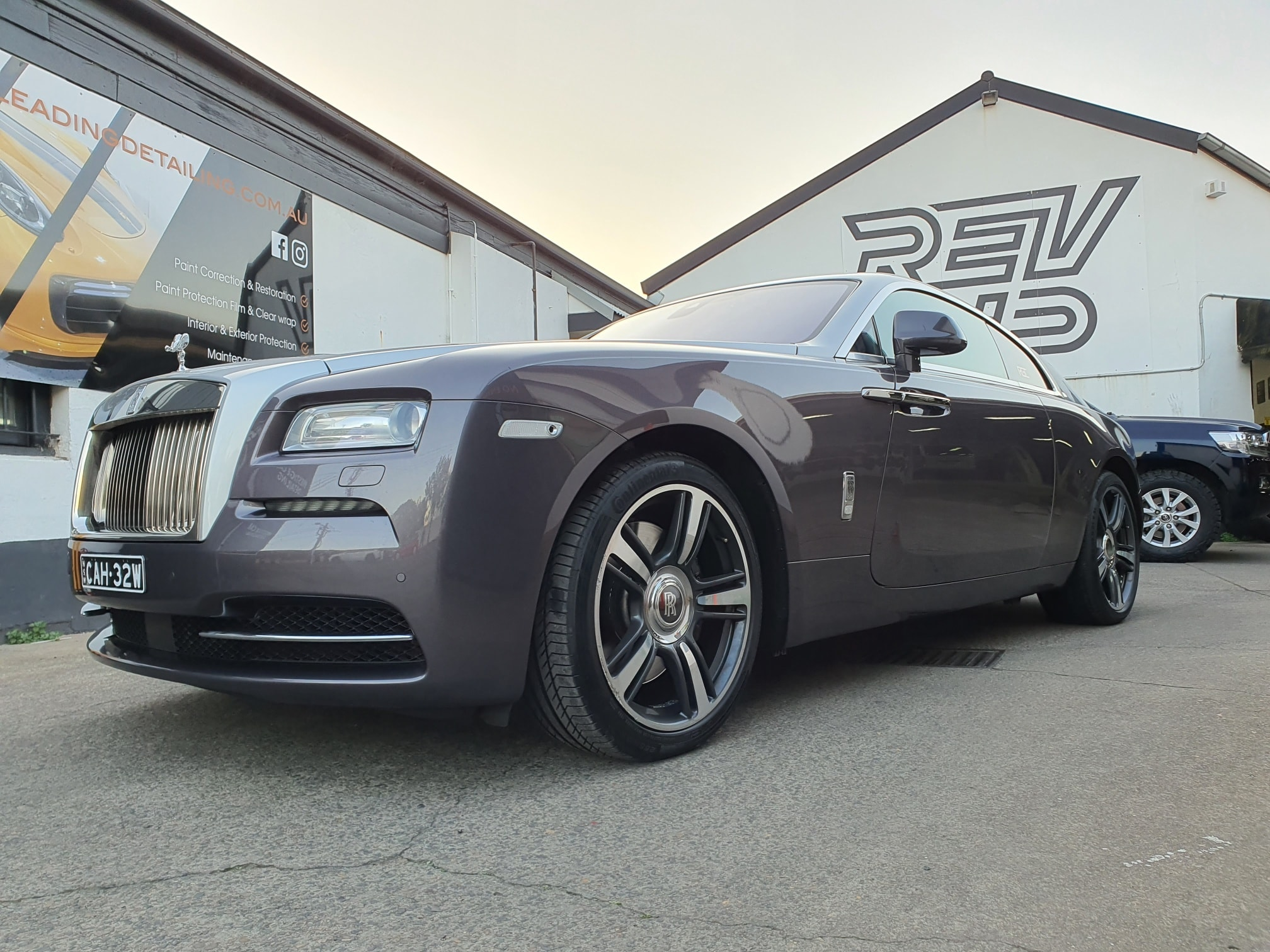 Rolls Royce paint protection film