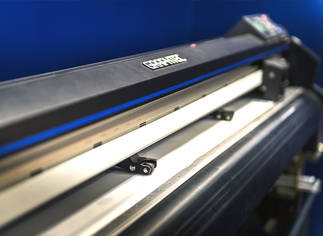 The PPF Studio, paint protection film services using Graphtec plotter cutters in Rozelle Sydney NSW